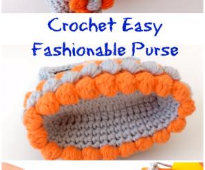Crochet Easy Fashionable Purse