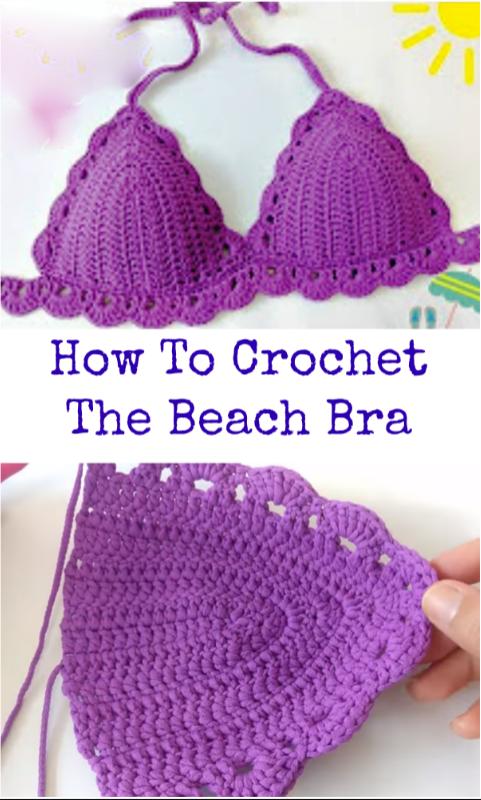 How To Crochet The Beach Bra – Crochet Ideas