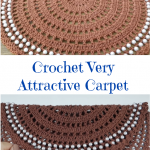 Crochet Very Attractive Carpet