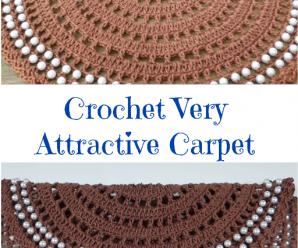 Crochet Very Attractive Carpet