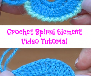 Crochet Spiral Element Video Tutorial