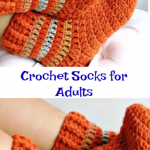 Crochet Socks for Adults