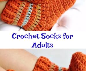 Crochet Socks for Adults
