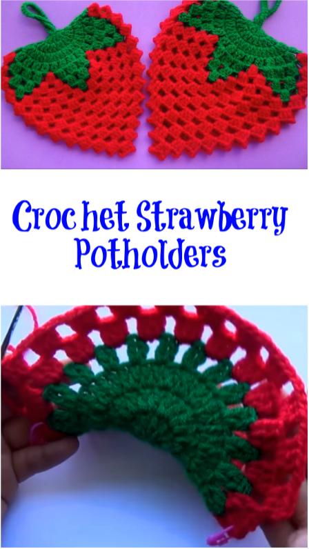 strawberry Potholders