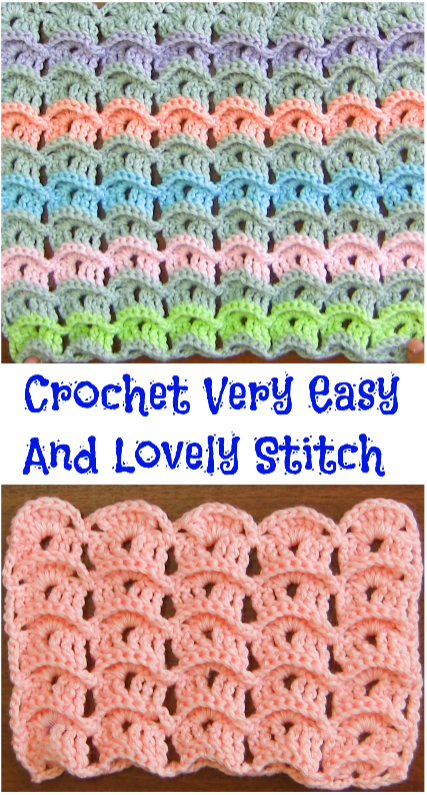 very easy and lovely stitch
