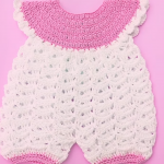 Crochet Very Easy Baby Romper