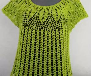 Crochet Simply Cute Blouse