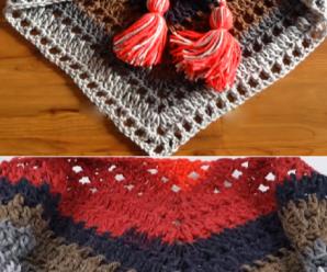 Crochet Comfortable Scarf Video Tutorial