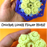 Crochet Lovely Flower Motif