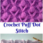 Crochet Puff Dot Stitch