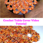 Crochet Table Cover Video Tutorial