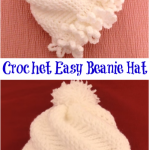 Crochet Easy Beanie Hat