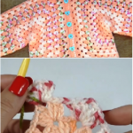 How To Crochet Hooded Baby Jacket