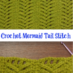 Crochet Mermaid Tail Stitch