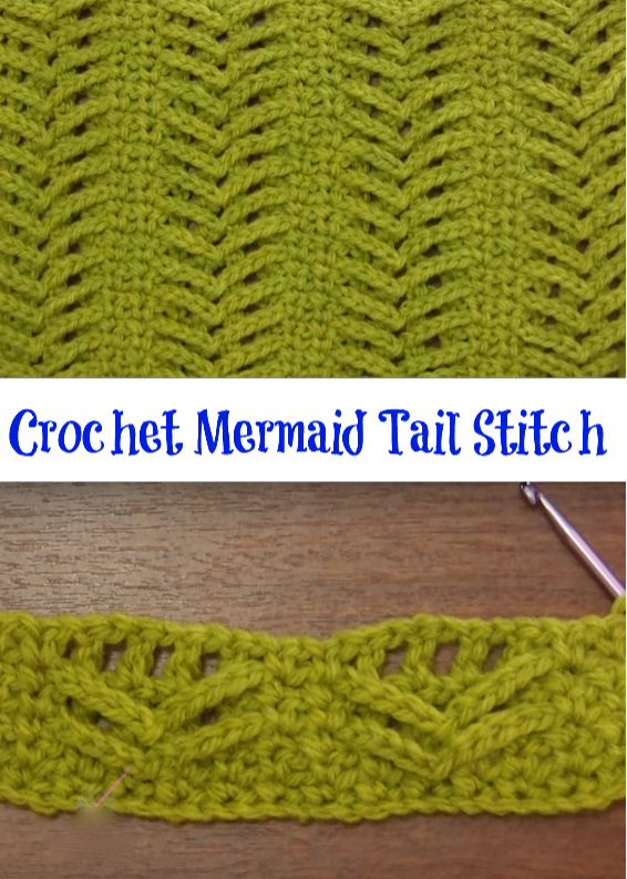 mermaid tail stitch