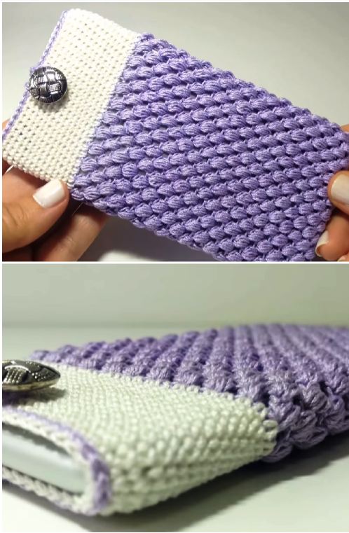 How To Crochet Mobile Case Crochet Ideas