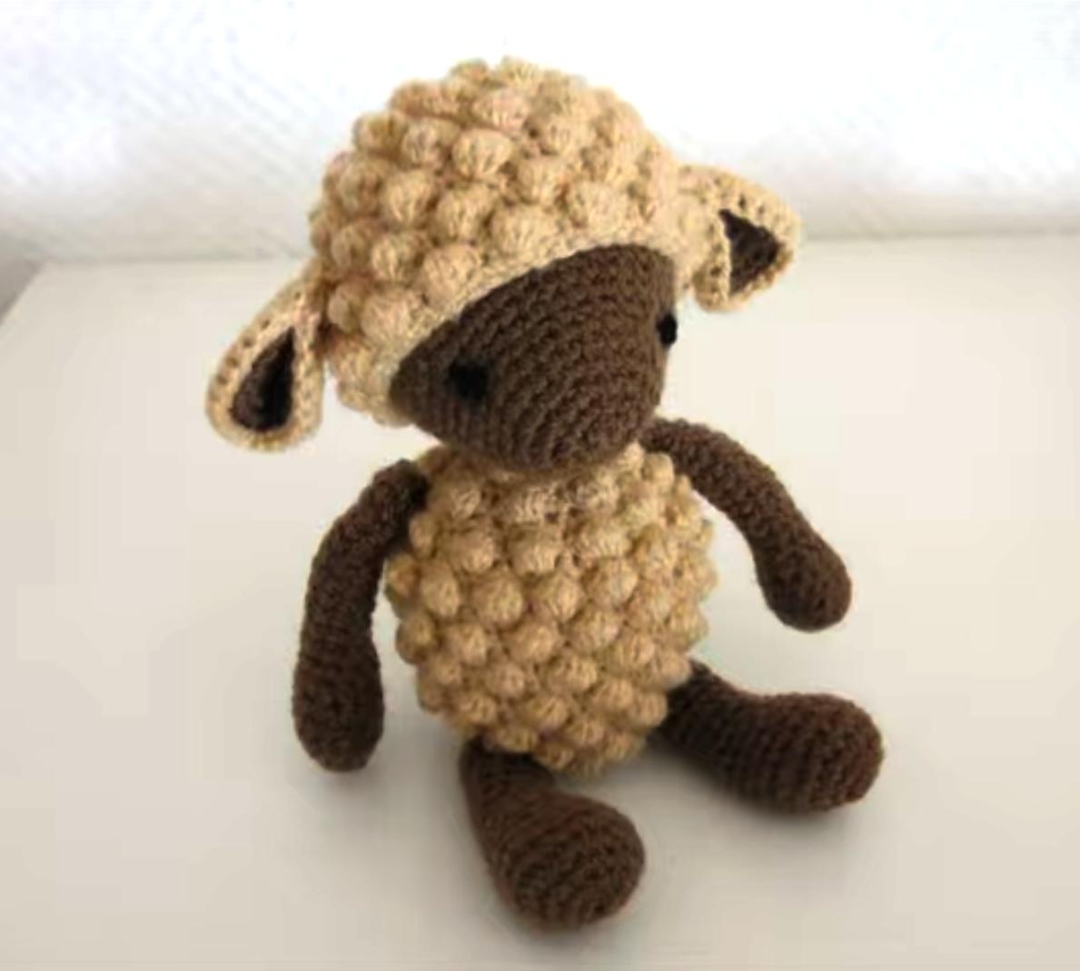 Amigurumi – Philip the sheep - crochet – tutorial | 1069x1189