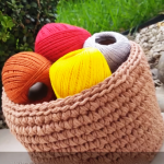 Crochet Basket Step By Step Video Tutorial