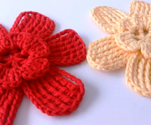 Crochet Easy And Elegant Flower