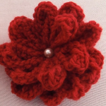 Creative 3D Crochet Flower