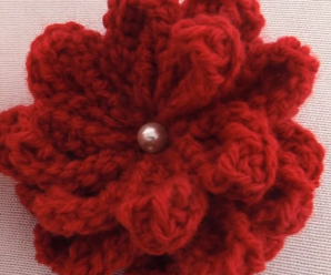 Creative 3D Crochet Flower