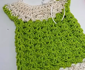Crochet Easy And Cute BaBy Dress