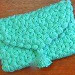 Crochet Jasmine Stitch Clutch