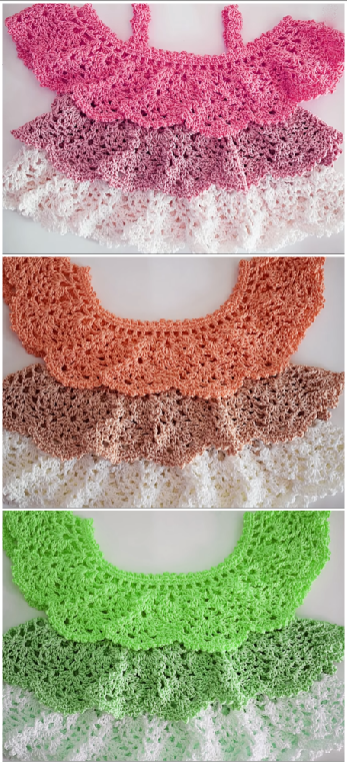 crochet fast and easy stylish baby top