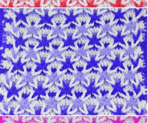 Crochet Star Point Stitch