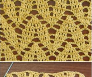 How To Crochet Twig Stitch