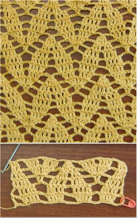 crochet twig stitch