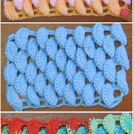 Crochet Half Orange Stitch