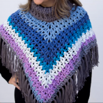 Crochet Cup Cake Poncho Video Tutorial