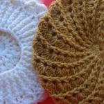 Spiral Stitch Crochet Beret