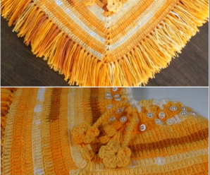 Crochet Poncho From 2 To 5 Years