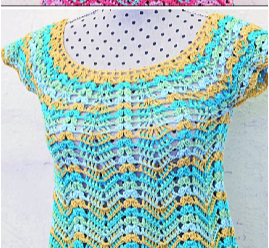 Easy And Fast Colorful Blouse