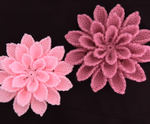 Super Easy And Beautiful 3 D Flower