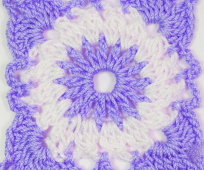 Fast And Easy Granny Square For Blankets And Pillows