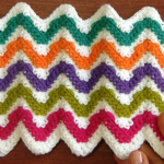 Crochet Zigzag Heart Stitch (Two Sides)