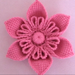 3 D Flower Step By Step Video Tutorial