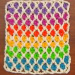 Crochet Colorful Morrocan Stitch