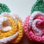 Crochet Rose Flower Video Tutorial