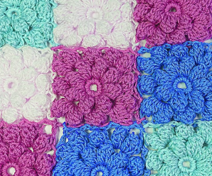 Fast And Easy Flower Square