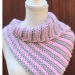 Crochet Elastic Scarf Video Tutorial