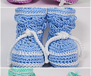 Fast And Easy Baby Booties
