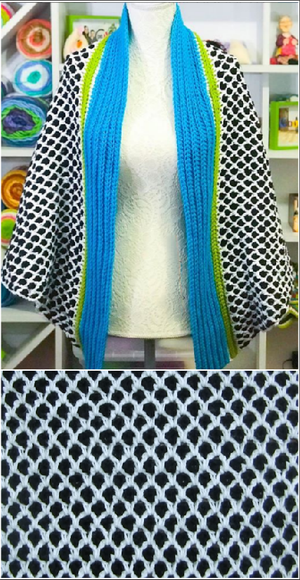crochet fashionable cardigan