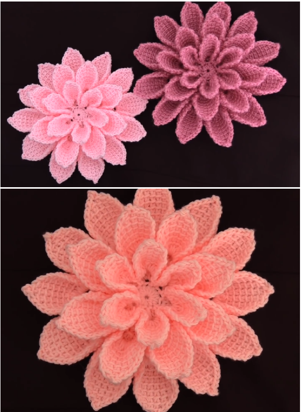 super easy and beautiful 3d flower