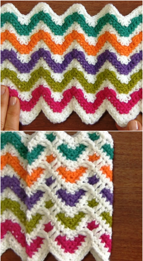 two sided zigzag heart stitch