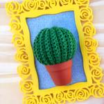 Crochet Mini Cactus Amigurumi
