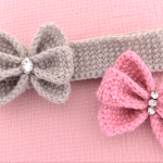 Crochet Butterfly Headband
